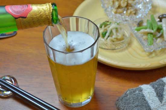 チェコビールの芳香が漂います