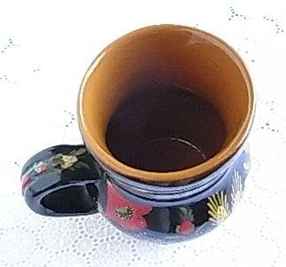チェコ陶器マグ
