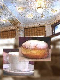 プラハのカフェ