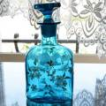 ブルーのカラフェ